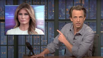 Seth Meyers Calls Out Melania Trump For Painting Herself As The Victim Of The Failed MAGA Coup
