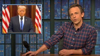 Seth Meyers Goes To Town On Trump's 'Lie-Filled' Farewell Message: 'You Left The Nation In Ruins'