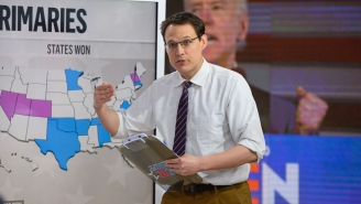 People Watching The Senate Runoff Results Were Just Happy To See MSNBC's Khaki King Steve Kornacki Again