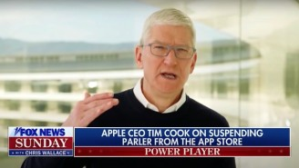 Tim Cook Explained Why Apple Banned MAGA-Friendly Parler On Fox News: 'We Don't Consider That Free Speech'