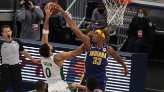 Report: NBA Block Leader Myles Turner Will Miss Time With A Fracture In His Right Hand