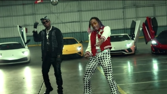 Tyla Yaweh, Gunna, And Wiz Khalifa Want 'All the Smoke' In Their Rubber-Burning New Video