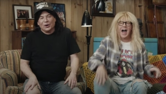 Mike Myers And Dana Carvey Reunited For A 'Wayne's World' Super Bowl Ad