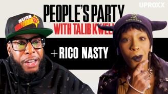 Talib Kweli & Rico Nasty Talk Rihanna, Lil Yachty, & More