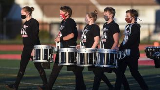 A High School Band Designed A COVID-Safe Way To Bring Back Indoor Practice — And It Kind Of Works