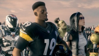 JuJu Smith-Schuster Rode A Shark And Ate Samuel L. Jackson In Fortnite Inspired Super Bowl Ad