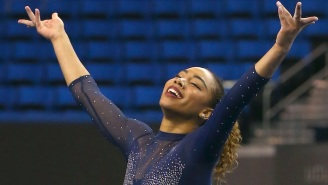 UCLA Gymnast Margzetta Frazier Crushed A Janet Jackson Floor Routine That's Going Viral