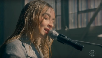 Sabrina Carpenter Washes Haters Clean With Her 'Skin' Performance On 'Corden'