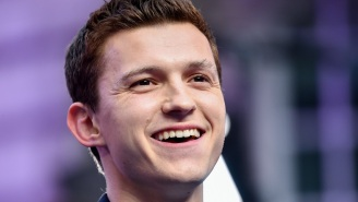 Tom Holland On 'Cherry' And How There's No Way To Answer Your Tricky 'Spider-Man: No Way Home' Question