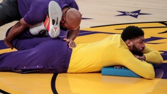 Anthony Davis Doesn't 'Want To Play Around With An Achilles' As He Continues To Miss Time