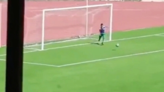 A Ball Boy Took Matters Into His Own Hands To Stop A Goal In An Algerian Soccer Game