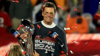 Tom Brady Regrets Throwing The Lombardi Trophy At The Bucs Super Bowl Celebration: 'That Was Not Smart'