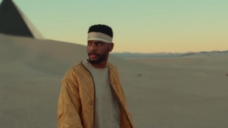 Bryson Tiller Falls Through A Desert Vortex In His Mind-Spinning Video For 'Sorrows'