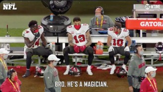 Even The Bucs Receivers Couldn't Believe Some Of The Throws Mahomes Made In The Super Bowl