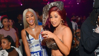 Cardi B's Sister Hennessy Hints At A Possible Saweetie Collaboration