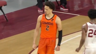 Cade Cunningham's 40-Point Double-Double Willed Oklahoma State To A Win Over Oklahoma