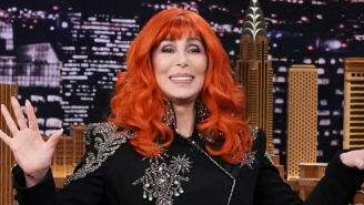 Cher Takes Aim At Anti-Vaxxers At Dodger Stadium With A Style That Remains Unrivaled