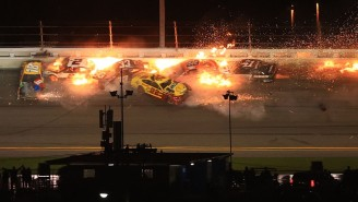 Michael McDowell Won The Daytona 500 After The Leaders Wrecked In A Fiery Last Lap Crash
