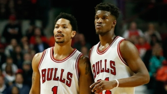 Jimmy Butler Is Excited Over Thibs 'Getting The Band Back Together' With The Derrick Rose Trade