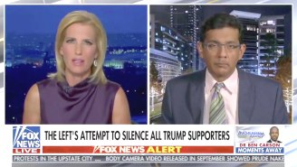 No One Was Buying Dinesh D'Souza's Attempt At Painting The Violent Capitol Rioters As 'A Bunch Of Rowdy People'