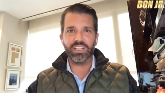 Don Jr. Released Another Bizarre, Amped-Up Rant While News Swirled Of Him Being Investigated By The Manhattan DA