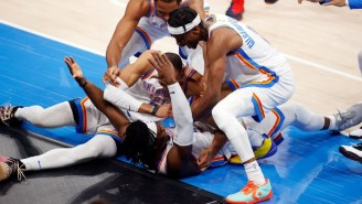 The Thunder Beat The Spurs On A Luguentz Dort Buzzer-Beater Three