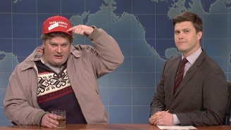 Trump Personally Thanked Bobby Moynihan For Having Racist, Sexist Drunk Uncle Be His 'Number One Fan' On 'SNL'