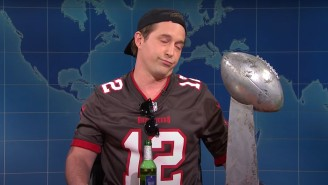 'Drunk Tom Brady' Partied And Got Surprisingly Introspective On 'SNL' Weekend Update