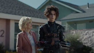 Tim Burton Gave His Blessing To Cadillac's 'Edgar Scissorhands' Super Bowl Ad With Timothée Chalamet