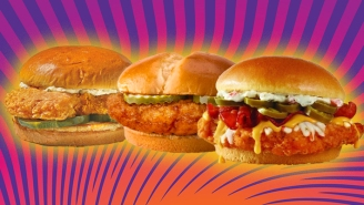 Our Review Of The New McDonald's, Popeyes, And Wendy's Sandwiches