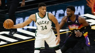Devin Booker Knew The Suns Were 'In Good Shape' When Giannis Pulled Up For A Game-Winning Jumper