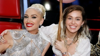 Miley Cyrus Could End Up Singing At Gwen Stefani And Blake Shelton's Wedding