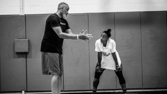 Jewell Loyd And Trainer Phil Handy Give Young Players A Feel For It Was Like To Train With Kobe Bryant
