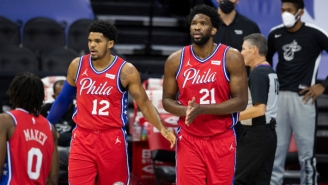 Tobias Harris Will 'Tell My Kids One Day' He Played With Joel Embiid After His 50-Point Outburst