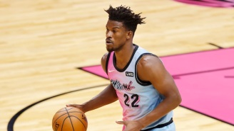 Taylor Swift Rates Jimmy Butler Singing And Dancing To Her Music In The Locker Room A 13 Out Of 10