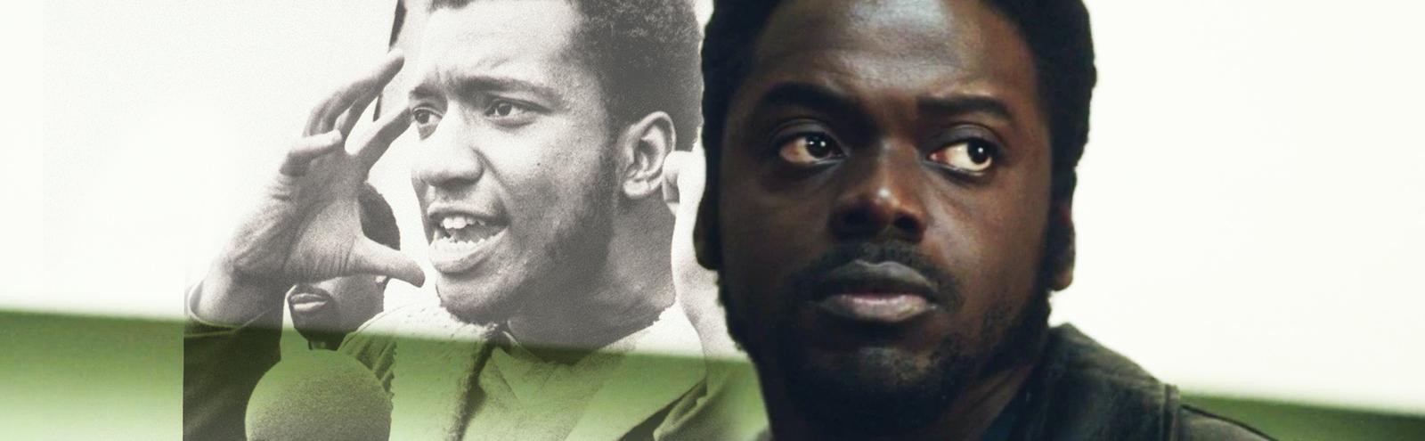 Fred Hampton and Daniel Kaluuya in Judas And The Black Messiah