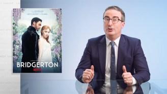 John Oliver Sums Up 'Bridgerton' In One Brutal Sentence Before Getting Dead Serious On 'Last Week Tonight'