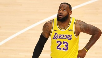 LeBron James Became The Third NBA Player To Reach 35,000 Career Points