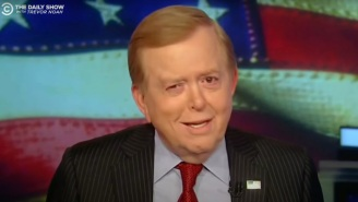 'The Daily Show' Paid Glorious Tribute To Recently Fired Fox News Host Lou Dobbs, 'The Most North Korean Broadcaster America Has Ever Seen'