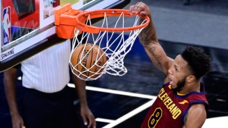 The Cavs Knocked Off The Hawks On A Game-Winning Dunk By Undrafted Rookie Lamar Stevens