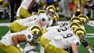 Notre Dame Won't Be In EA's New College Football Game Until Players Can Get Paid