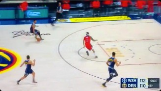 The Nuggets Lost To The Wizards Thanks To The Worst 3-On-1 Fastbreak Ever