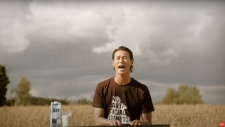 A Bizarre Super Bowl Ad For The Vegan Food Brand Oatly Left People Scratching Their Heads