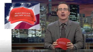 John Oliver Busts The 'Complete Myth' That Trump Was Somehow Good For Comedy