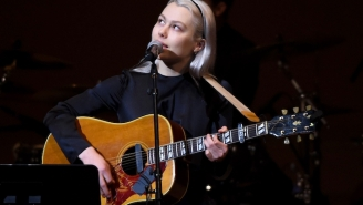 Phoebe Bridgers Wore Her Skeleton Suit To Perform 'Kyoto' On 'Saturday Night Live'