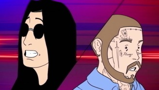 Post Malone And Ozzy Osbourne Flee From The Law In Their Animated 'It's A Raid' Video