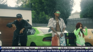 Problem And Wiz Khalifa Have Legal Weed '4 The Low' In Their New Video