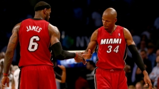 Ray Allen Says LeBron Still Calls To Thank Him For His Title-Saving Three In Game 6 Against The Spurs