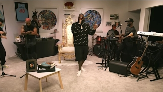 Rick Ross Delivers A Regal NPR Tiny Desk Concert Performance Of His Greatest Hits