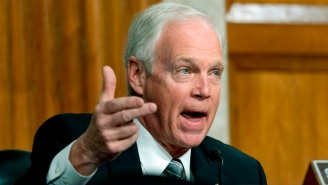 Sen. Ron Johnson Is Still Blaming Antifa And 'Fake Trump Supporters' For The Jan. 6th Capitol Riots, And He's Being Resoundingly Blasted For It